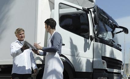 Frozen Food transport